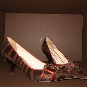 Vince Camuto Brown Pointed Toe Heel